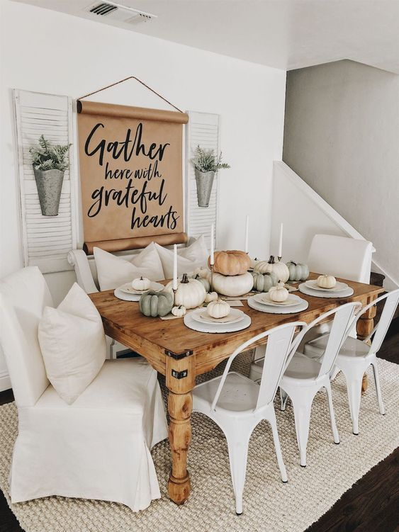 62 Farmhouse Dining Rooms And Zones To Get Inspired | Home decor .