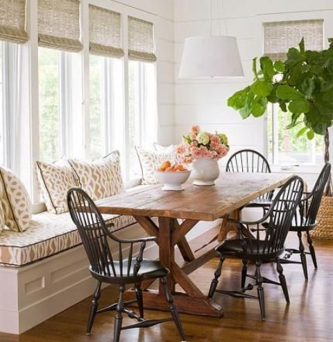 34 Farmhouse Dining Rooms And Zones To Get Inspired | Farmhouse .