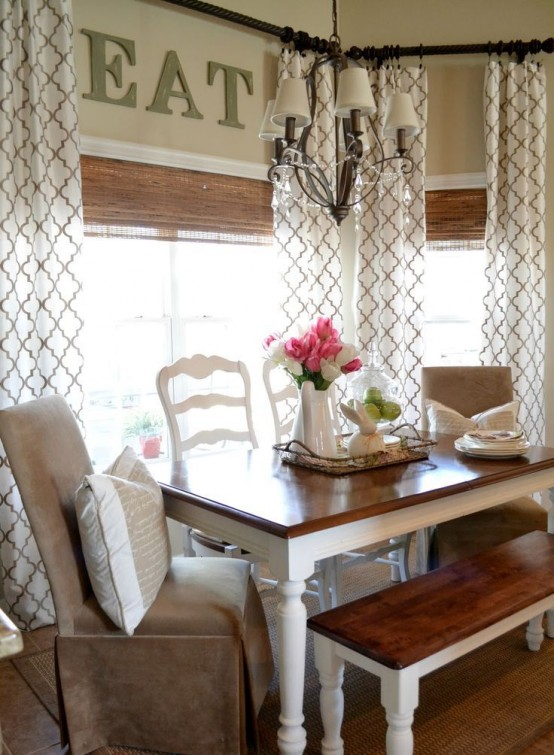 62 Farmhouse Dining Rooms And Zones To Get Inspired - DigsDi