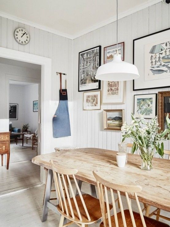 62 Farmhouse Dining Rooms And Zones To Get Inspired | Украшение .