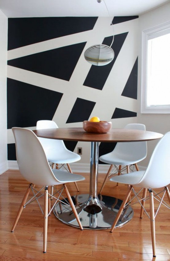 fashionable geometric decor ideas for you dining space 13 554x851 .