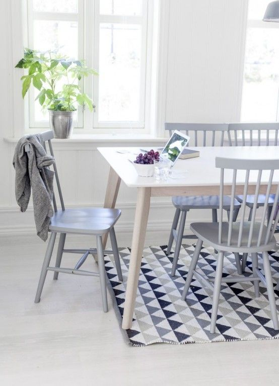 24 Fashionable Geometric Décor Ideas For Your Dining Space .