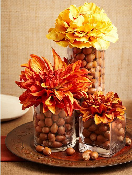 34 Faux Flower Fall Arrangements For Indoors And Outdoors | Acorn .