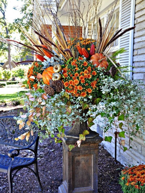 56 Faux Flower Fall Arrangements For Indoors And Outdoors - DigsDi