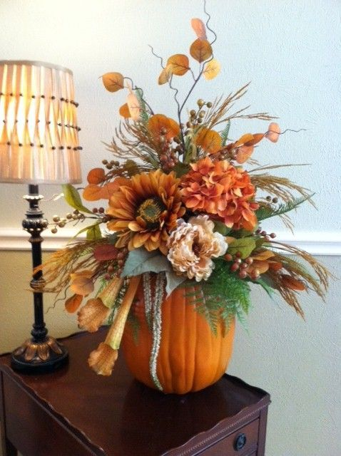 34 Faux Flower Fall Arrangements For Indoors And Outdoors | Fall .
