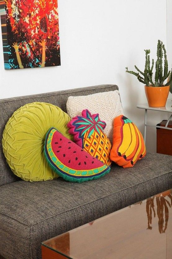 Feel The Summer: 26 Fruit Print Ideas In Home Décor (With images .