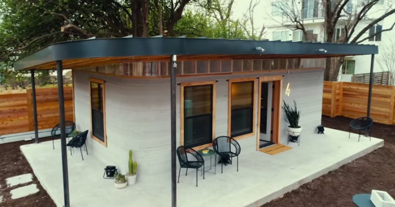 People for first time moved into 3D-printed home - Repo