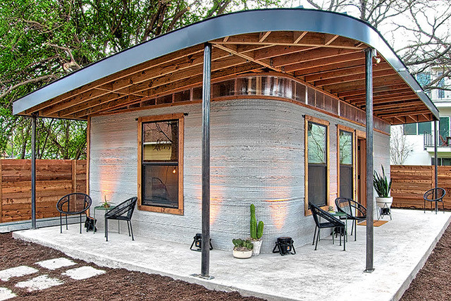 America's First 3D Printed Home Is Small Space Goals - See It Now .
