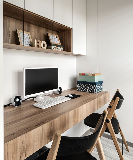 27 Awesome Floating Desks For Your Home Office - DigsDi