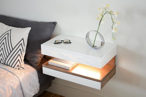 Modern Nightstand Floating Nightstand Floating Night Stand | Et