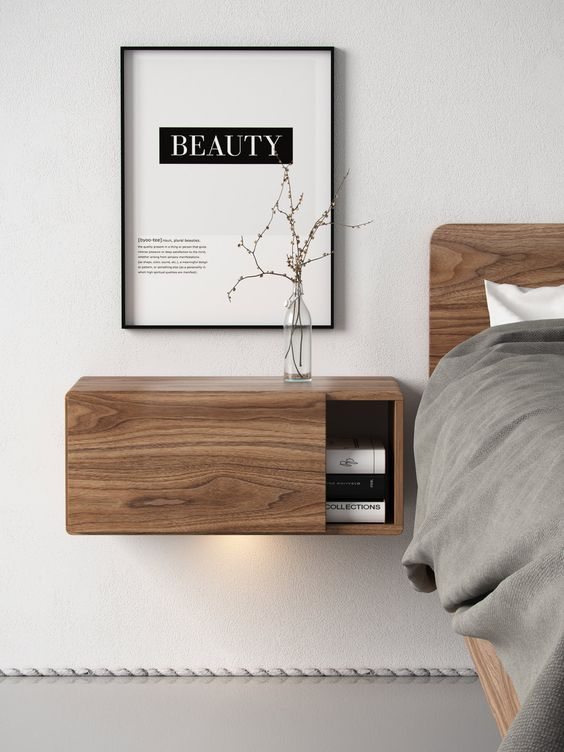 29 Coolest Floating Nightstands And Bedside Tables - DigsDi