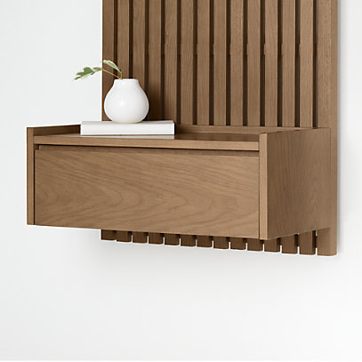 Batten Floating Nightstand + Reviews | Crate and Barr