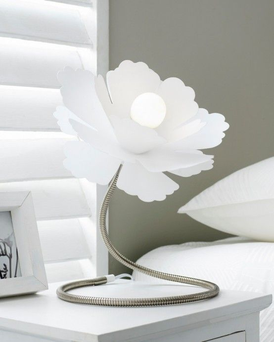 Touch Of Nature In Decor: 25 Flower And Plant Inspired Lamps .