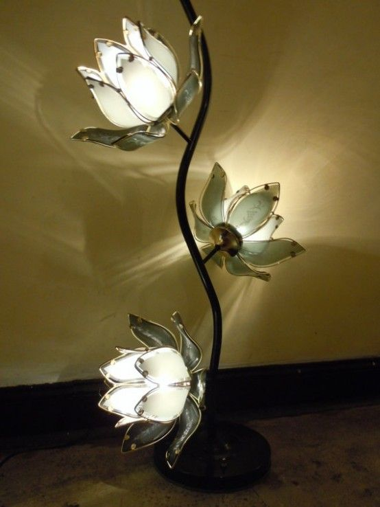 Flower And Plant Inspired Lamps   Старые лампы, Лампа, Светильник