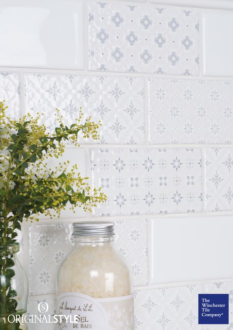 he Winchester Tile Company Artisan Decorative tiles were inspired .
