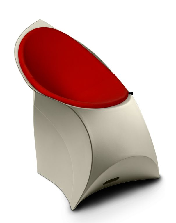 Origami Inspired Flux Chairs | [for interieur blo