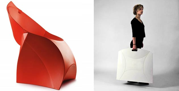Flux Chair | foldable furniture - Feel Desain | your daily dose of .