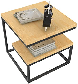 Amazon.com: PM-Nightstands Multi - Functional Bedside Table Living .