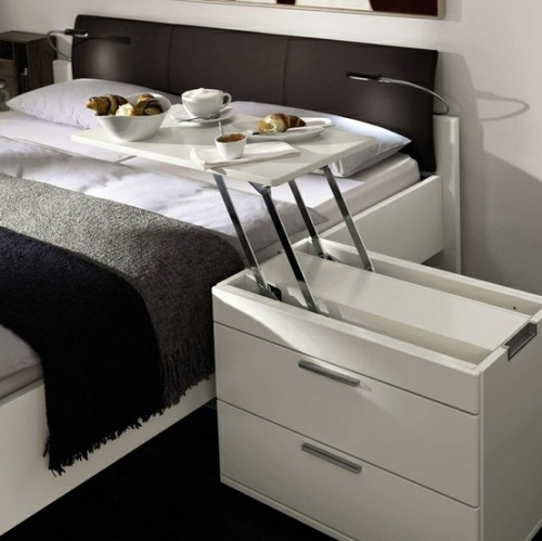15 Functional Bedside Tables You Wish You Had - Shelterne