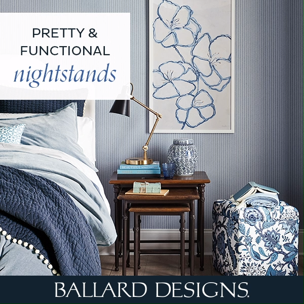Non-Traditional Nightstands. Pretty & Functional. - Get inspired .