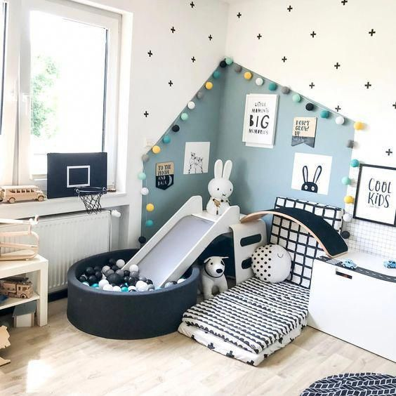 Children's Room; Home Decoration; Small Room; Wall Painting; Home .
