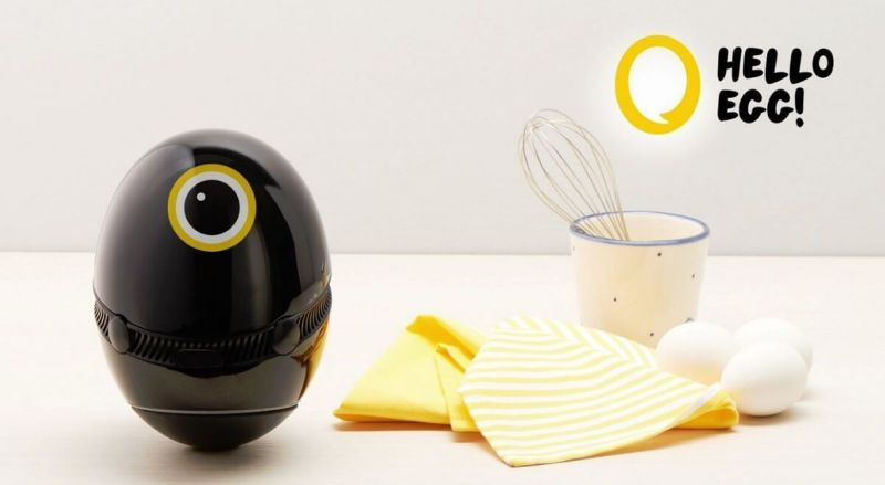 Hello Egg is a cute AI-enabled cooking assista