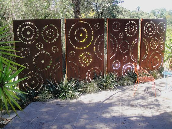 17 Creative Ideas For Privacy Screen In Your Yard | Garden privacy .