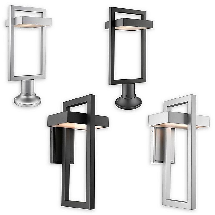 Filament Design Geometric Outdoor LED Lighting Collection   Bed .