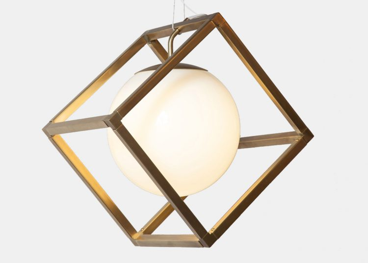 Minimalist Lighting Collection Based On Simple Geometric Forms .