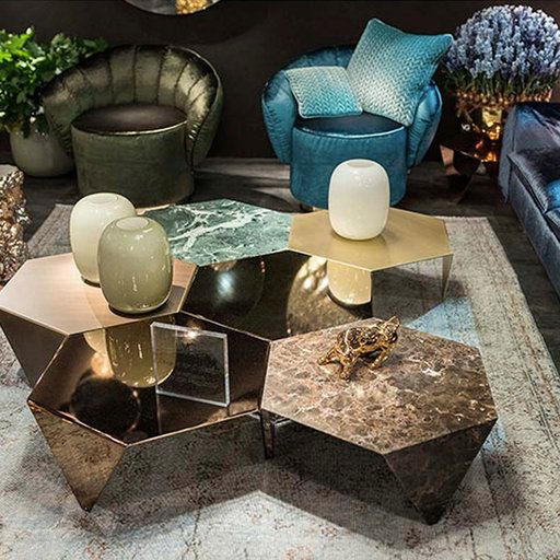 25 Edgy Geometric Shaped Furniture Items | Coffee table design .