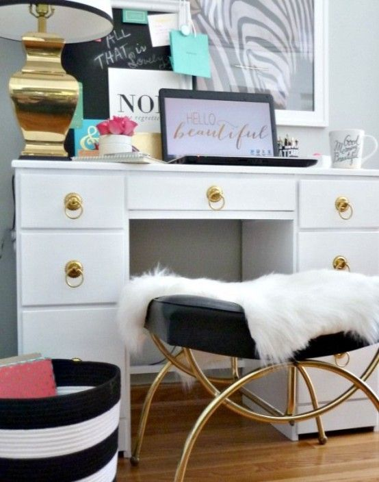38 Glam Gold Accents And Accessories For Your Interior | Home .