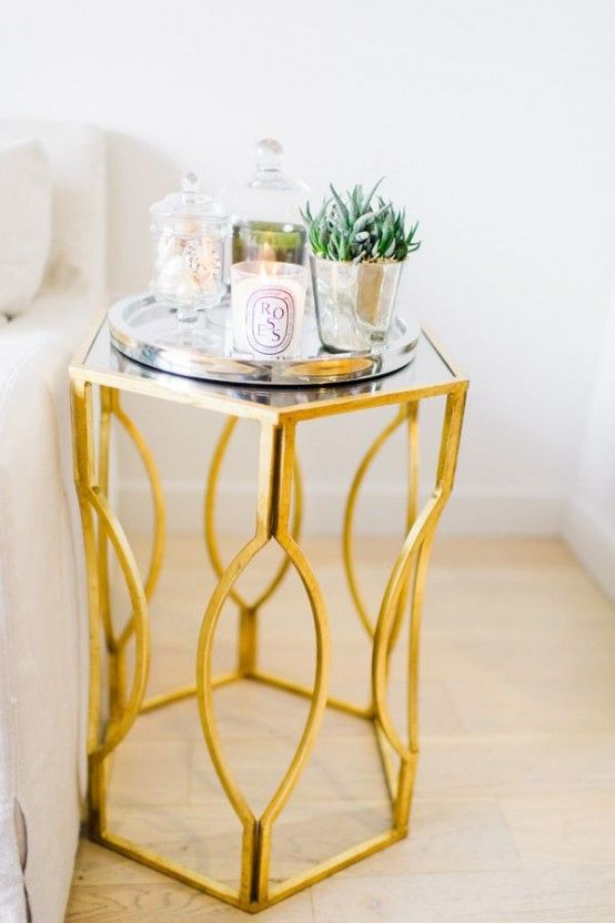 38 Glam Gold Accents And Accessories For Your Interior in 2020 .