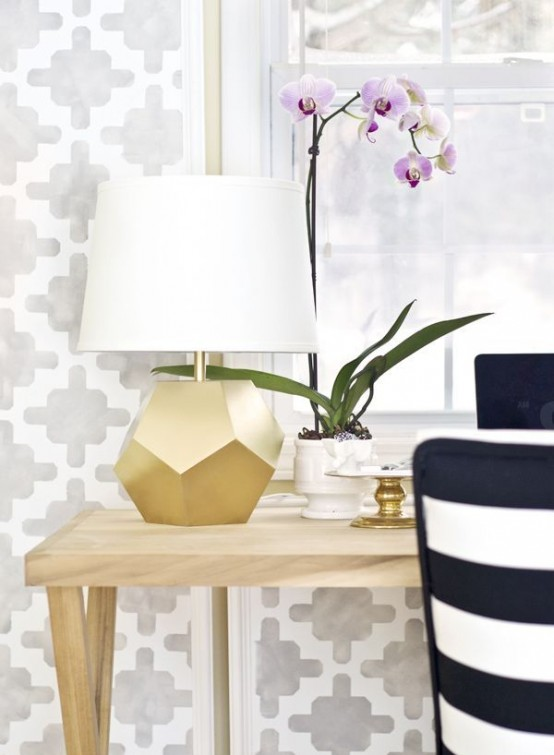 38 Glam Gold Accents And Accessories For Your Interior - DigsDi