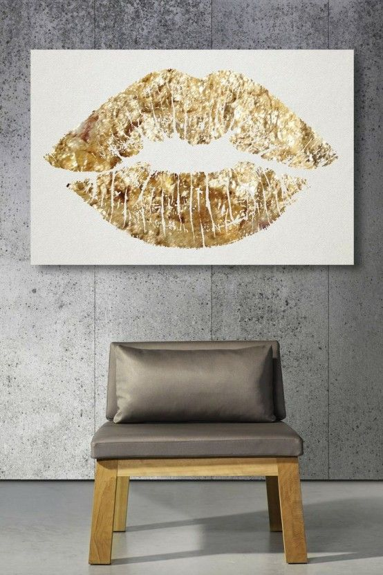 38 Glam Gold Accents And Accessories For Your Interior | Decor .