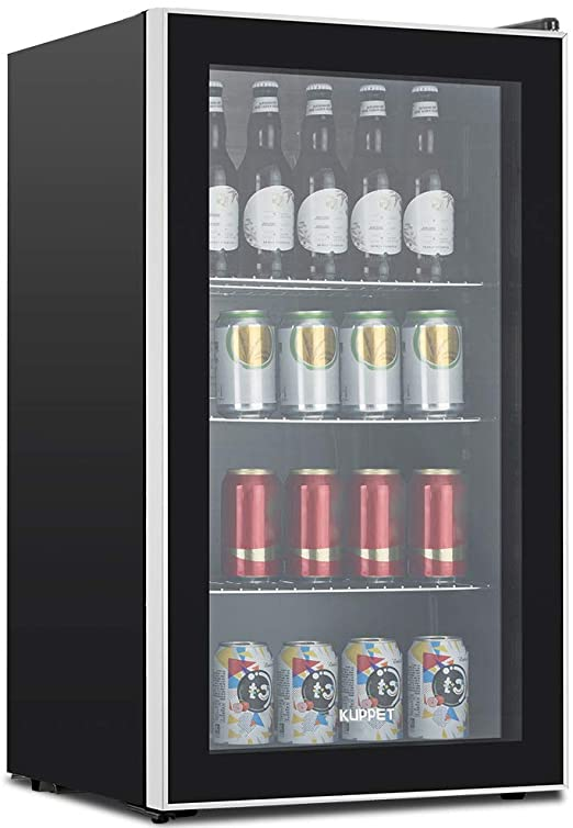 Amazon.com: KUPPET 120-Can Beverage Cooler and Refrigerator, Small .