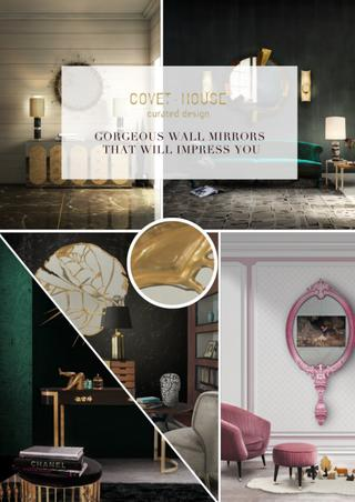 Covet House - Gorgeous Wall Mirrors That Will Impress You by COVET .
