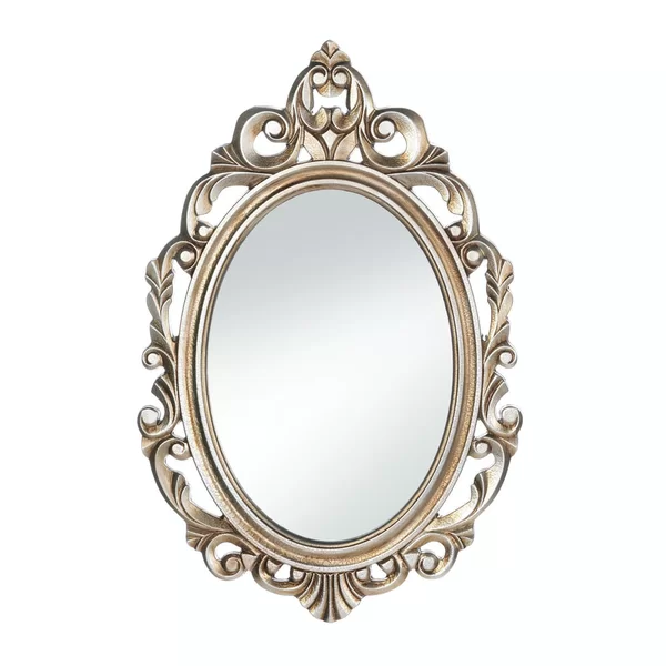 With style fit for royalty, this gorgeous wall mirror will make .