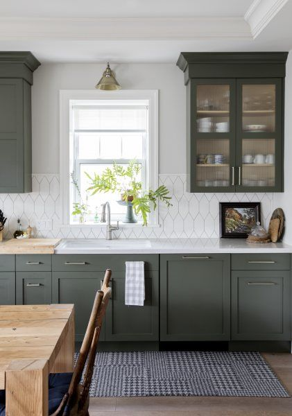 Project Spotlight: Coming Home   Fireclay Tile   Kitchen decor .