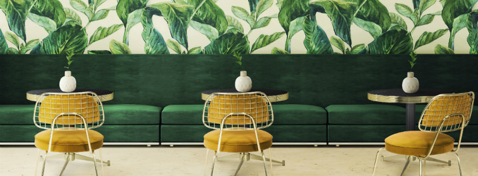 2018 Color Trends: Green Home Decor Ideas with a Mid-Century Touch .