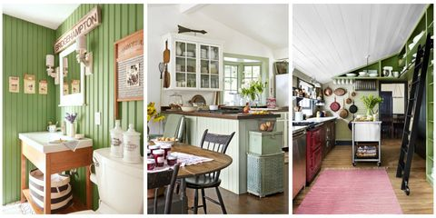 Decorating with Green - 43 Ideas for Green Rooms and Home Dec