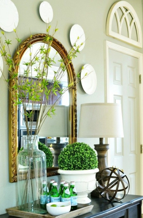 Bring Spring In: 27 Beautiful Greenery Touches For Your Home .