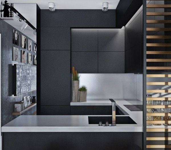 Artistic Apartments with Monochromatic Color Schemes | Interior .