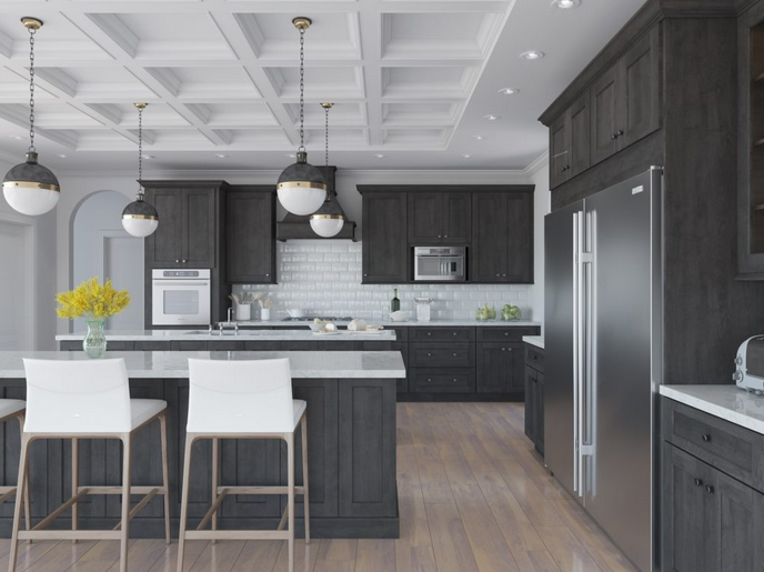 5 Design Ideas For Showcasing Your Grey Kitchen Cabine