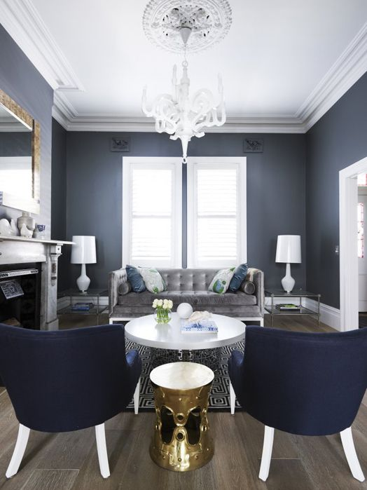 Decorating With Grey: Inspiring Grey Living Room Ideas - Home Ideas