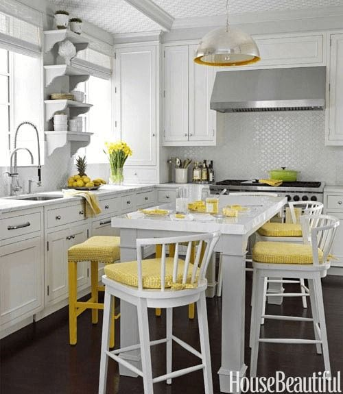 How to Make Mustard Yellow in Your Small Kitchen Décor   Small .