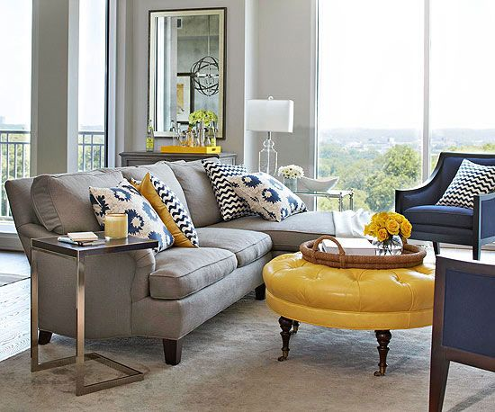 Mixing Patterns: How to Decorate Like a Pro | Living room grey .