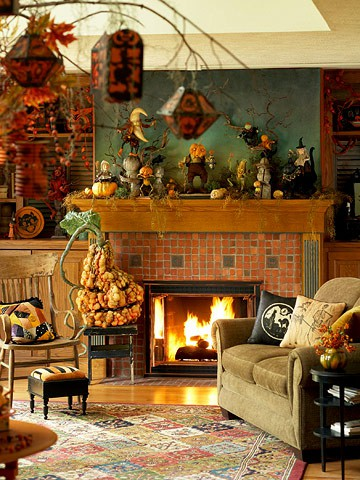 5 Cool Halloween Living Room Decorating Ideas - Shelterne
