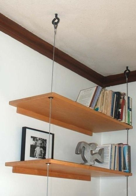 31+ Lovely Diy Hanging Shelves Ideas To Maximize Storage In A Tiny .