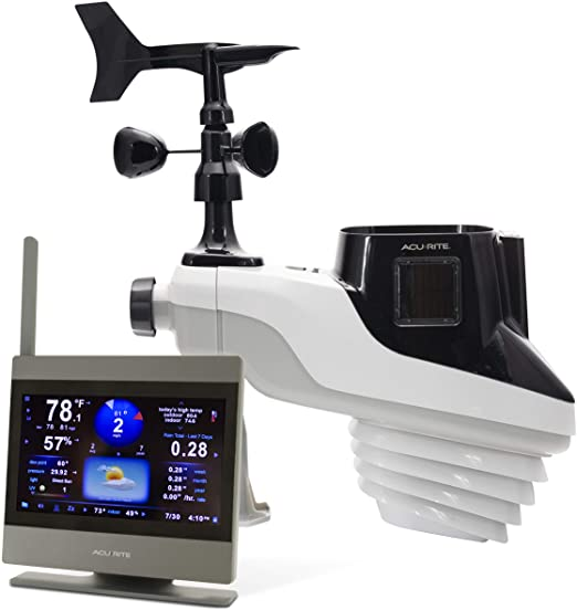 Amazon.com: AcuRite 01009M Atlas Weather Station with High .