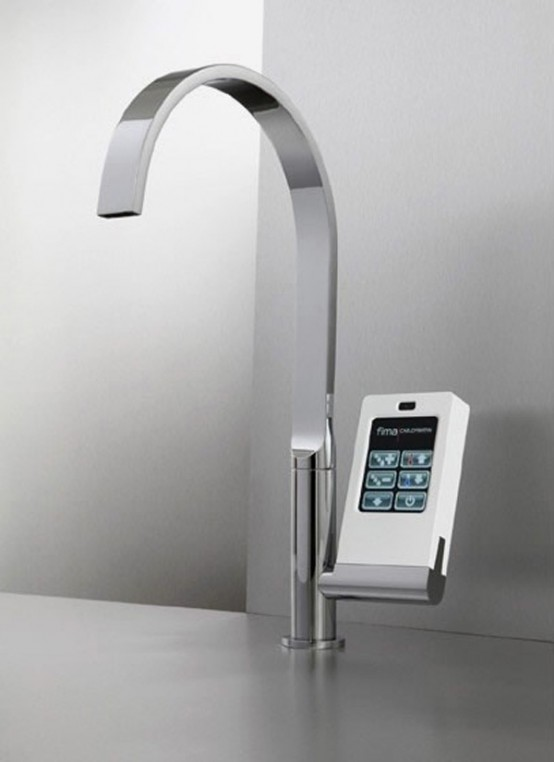 Kitchen faucet with touch screen | Latest Trends in Home Applianc